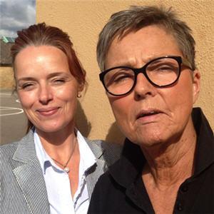 Katja Vinulv och Gull-Britt Holm arbetar på Laröd skola i Helsingborg.