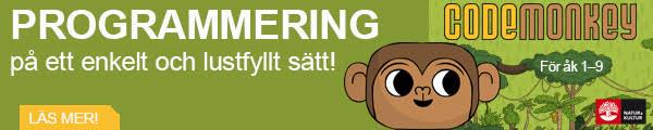 ANNONS: Programmering för grundskolan med Code Monkey