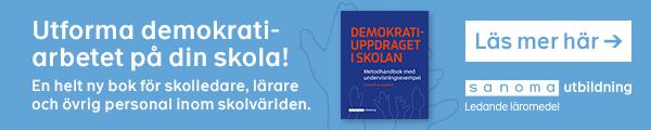 Annons: Sanoma: Ny bok om demokratiarbetet