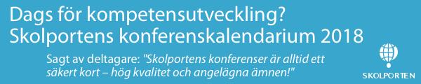 Annons: se hela Skolportens konferenskalendarium
