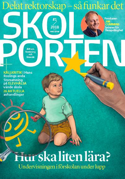 Tema: Förskola i Skolportens magasin