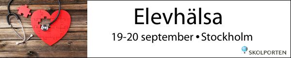 Skolportens konferens Elevhälsa 19-20 september