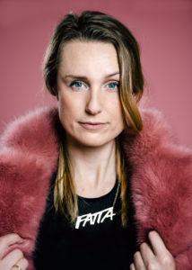 Elin Sundin, ordförande för FATTA. Foto: Margareta Bloom Sandebäck